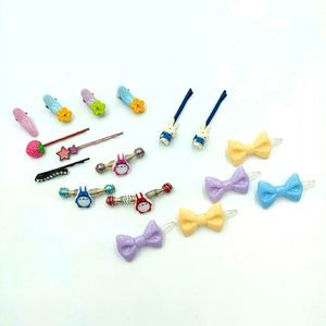 Other - LOT of Childrens Hair Pins Accessories Kawaii Cute